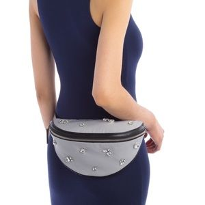 French Connection Embellished Belt Bag
